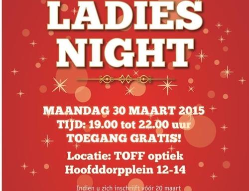 Ladies Night 30 maart in Amsterdam
